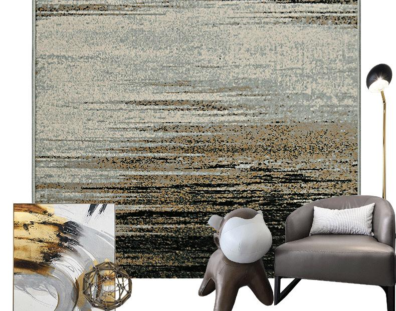 Abstract Style Soft PP Large Carpets-carpets-Eills Collection-Eills Collection