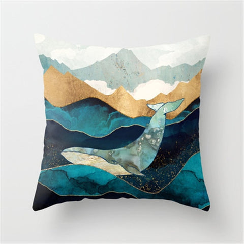 Image of Amber Dusk Pillow Sham