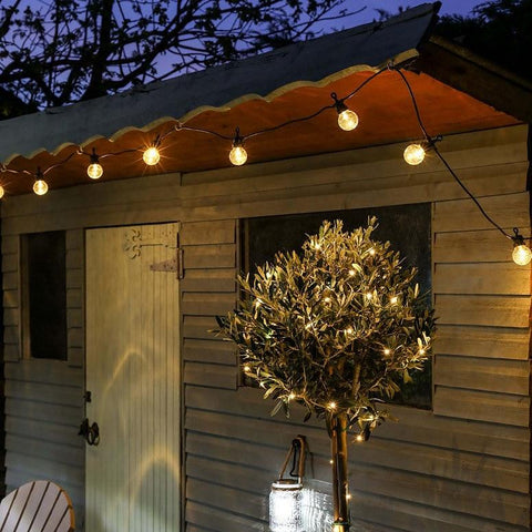 Garden Courtyard Waterproof 15M 20 Globe LED Bulb String Lights