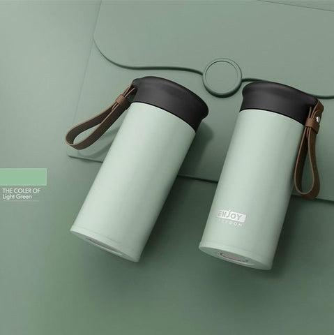 Image of Double Stainless Steel Vacuum Flasks 280ml Car Travel Thermos