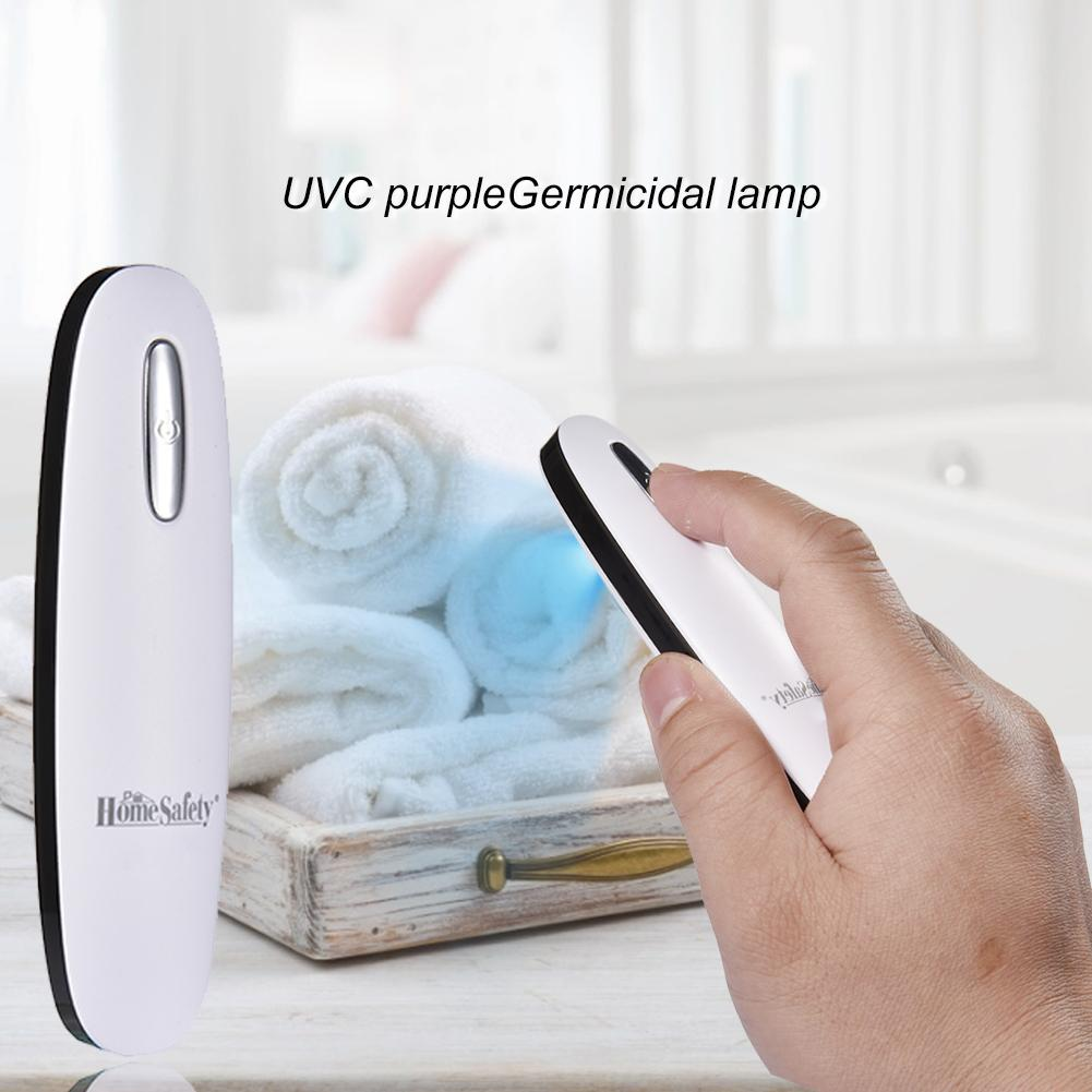Portable UV disinfection lamp