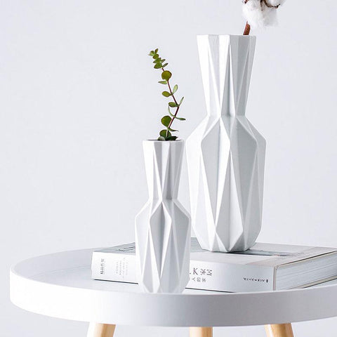 Image of Geometric Flower Vase