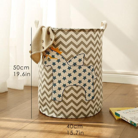 Bosley - Bedroom Foldable Laundry Hamper