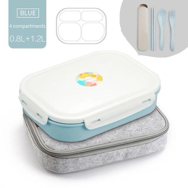 Noti Home Art Stainless Steel Multi-Compartment Leak Proof Lunch Box