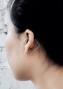 Square Illusionist Earrings