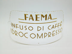Faema Mecurio 3rd Series plexi-glass