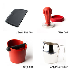 Pillar Tamper starter Kit with Small Flat Mat