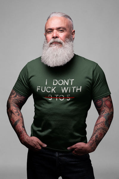 I Don't Fu*k with 9 to 5 Tee T-shirt EntrepreneurKing.co Heather Forest S