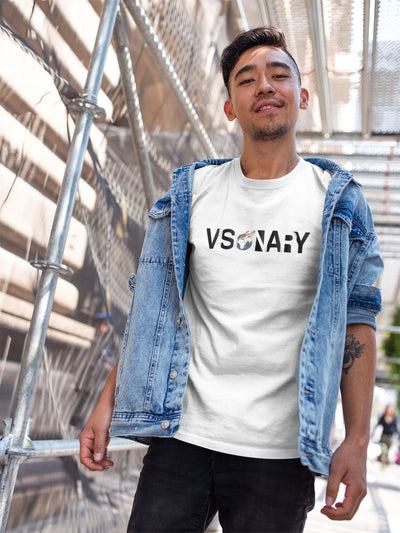Visionary TeeT-shirtEntrepreneurKing.coWhiteS motivational quotes entrepreneur inspirational quotes