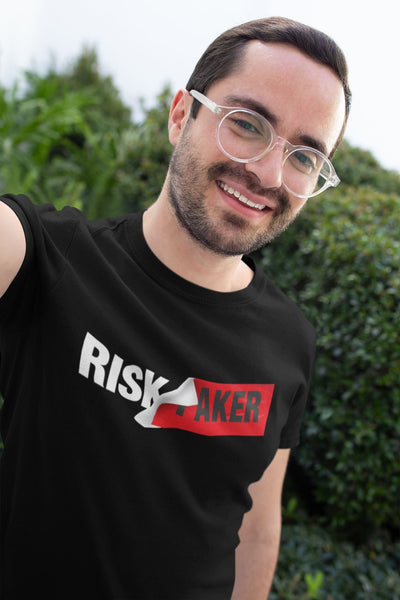 The Risk-Taker T-shirtT-shirtEntrepreneurKing.coBlackS motivational quotes entrepreneur inspirational quotes