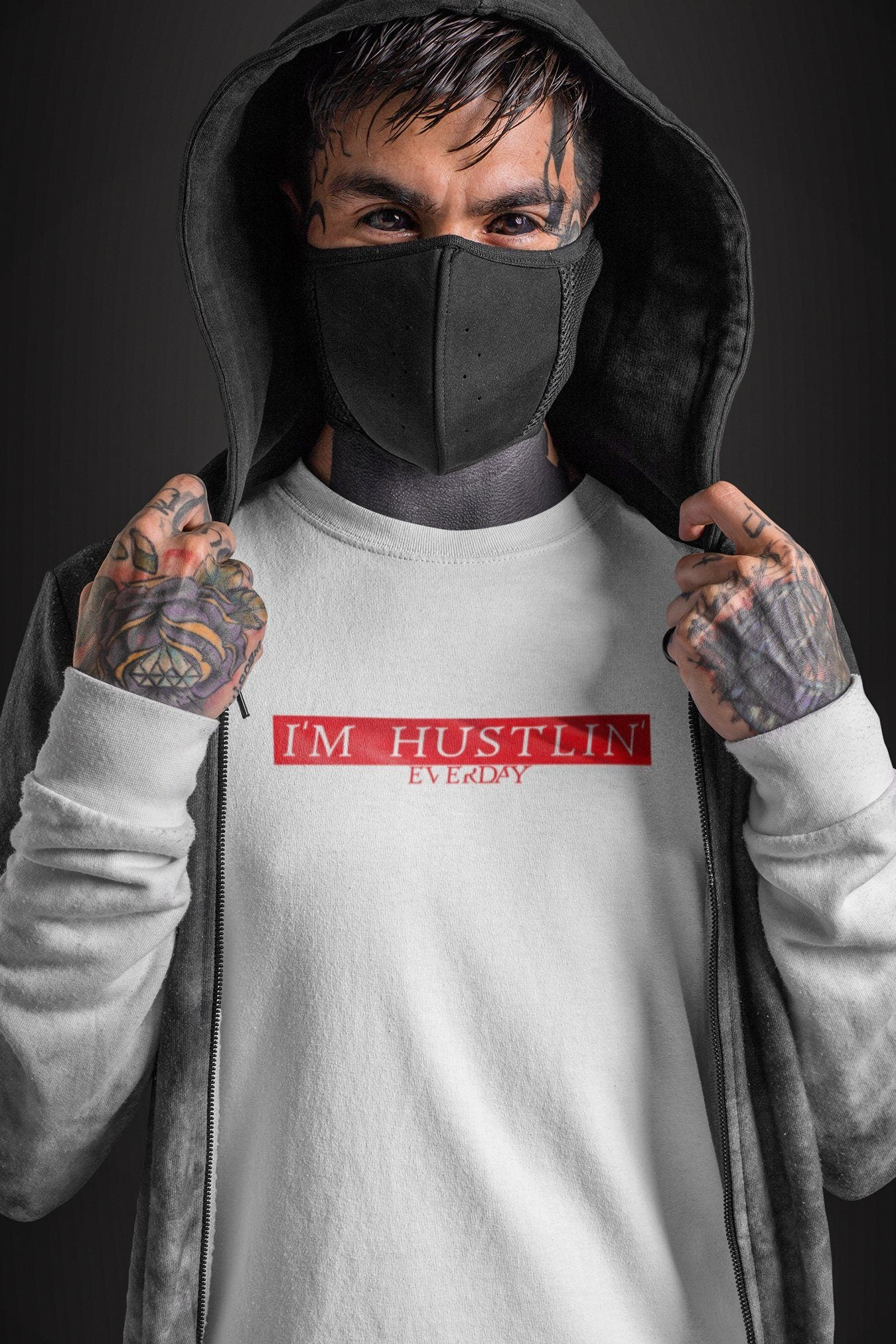 Everyday I'm Hustlin TeeT-shirtEntrepreneurKing.coWhiteS motivational quotes entrepreneur inspirational quotes