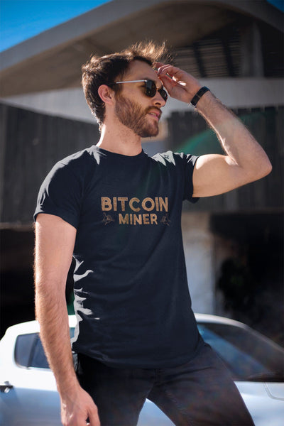 Bitcoin Miner TeeT-shirtEntrepreneurKing.coBlackS motivational quotes entrepreneur inspirational quotes