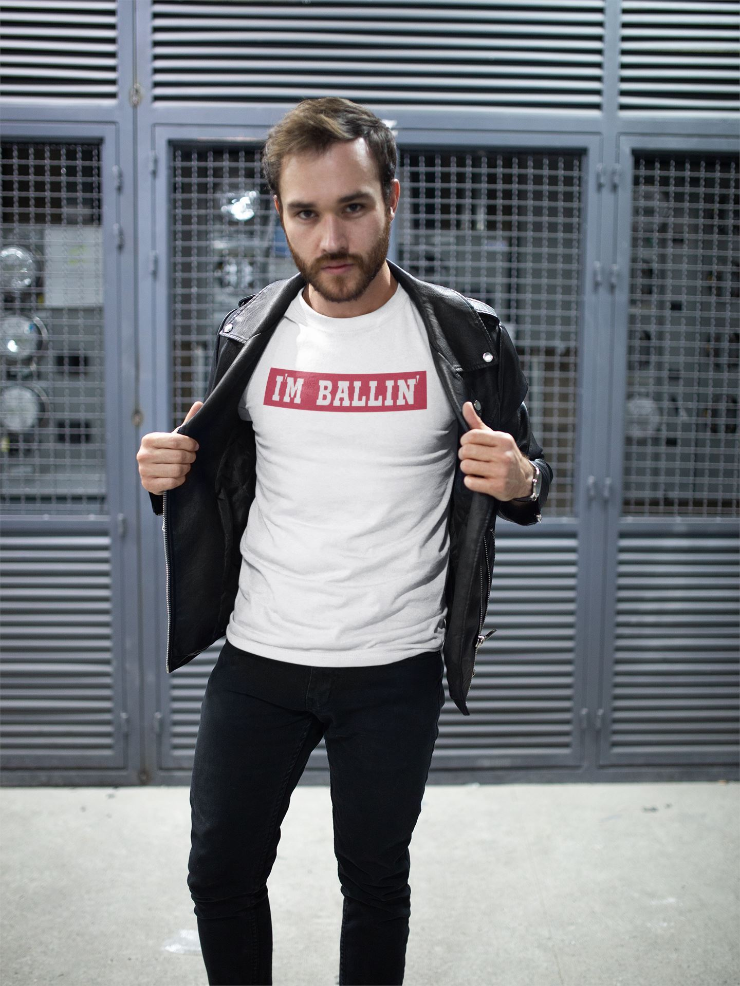I'm Ballin' Tee EntrepreneurKing.co White S