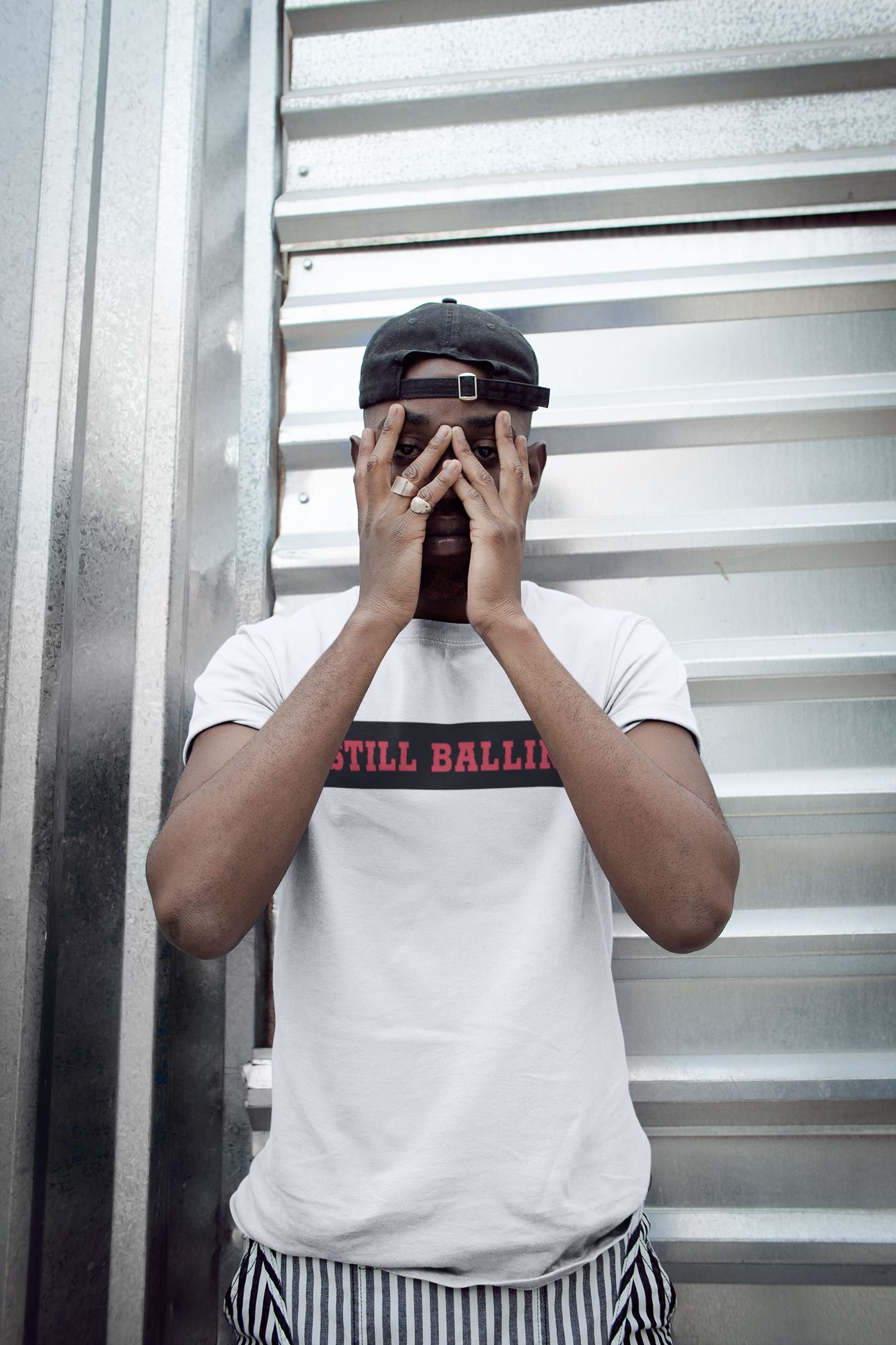 Still Ballin' Tee EntrepreneurKing.co White S