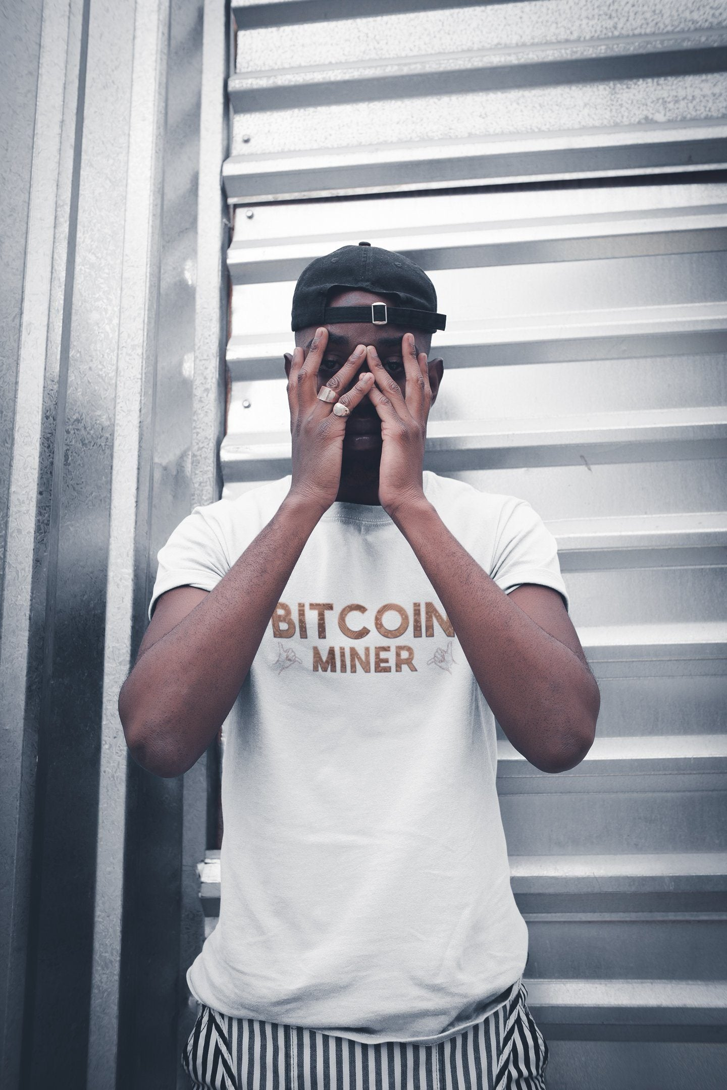 Bitcoin Miner TeeT-shirtEntrepreneurKing.coWhiteS motivational quotes entrepreneur inspirational quotes