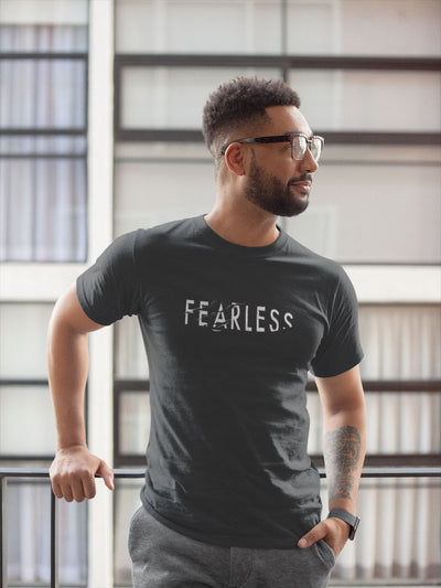 Fearless TeeT-shirtEntrepreneurKing.coBlackS motivational quotes entrepreneur inspirational quotes