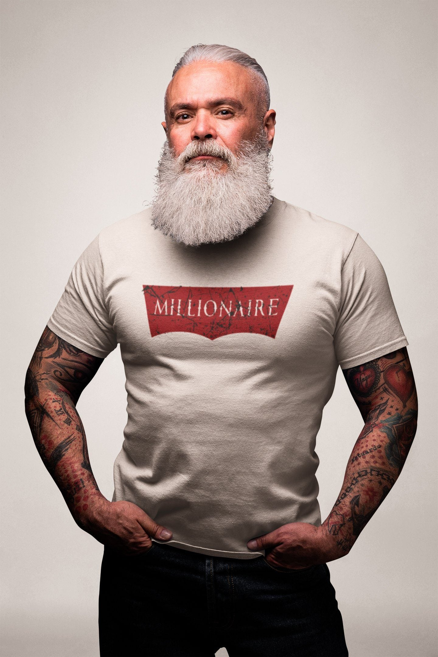 Millionaire T-shirtT-shirtEntrepreneurKing.coWhiteS motivational quotes entrepreneur inspirational quotes