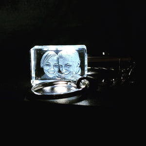 Light Up Crystal Keyring