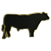 Angus Black Bull - Corriente Buckle