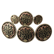 CBCONCH 100 Trophy Conchos - Corriente Buckle