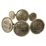 CBCONCH 100A Trophy Conchos - Corriente Buckle