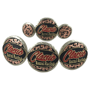 CBCONCH 101 Trophy Conchos - Corriente Buckle