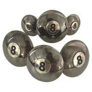 CBCONCH 110 8 Ball Conchos - Corriente Buckle