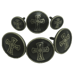 CBCONCH 111 Cross Conchos - Corriente Buckle