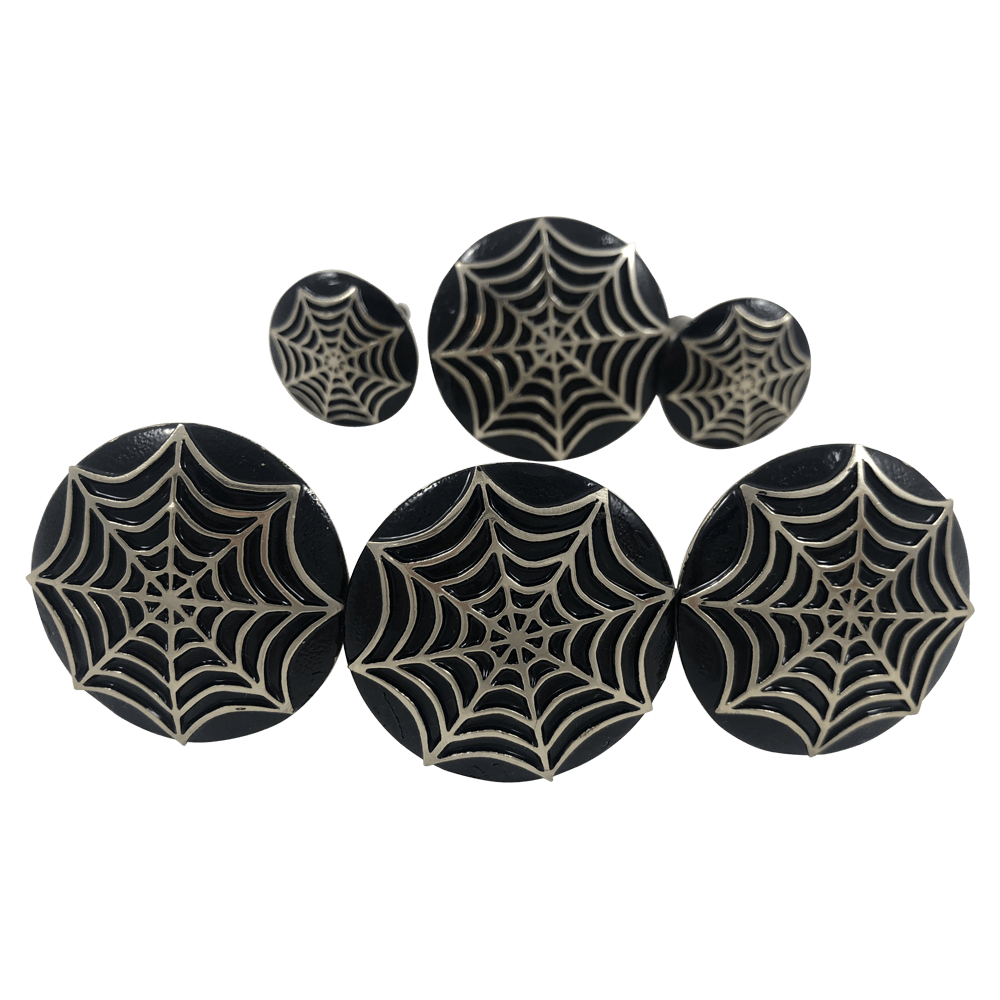CBCONCH 126D Spiderweb Conchos - Corriente Buckle