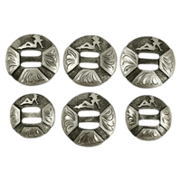 CBCONCH 147 Trucker Girl Conchos - Corriente Buckle