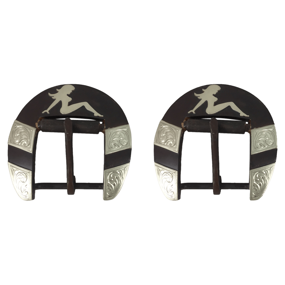 CSBCB 107 Back Cinch Buckles - Corriente Buckle