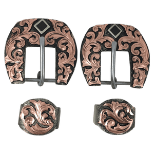 CSHB 101 Copper Headstall Buckles - Corriente Buckle