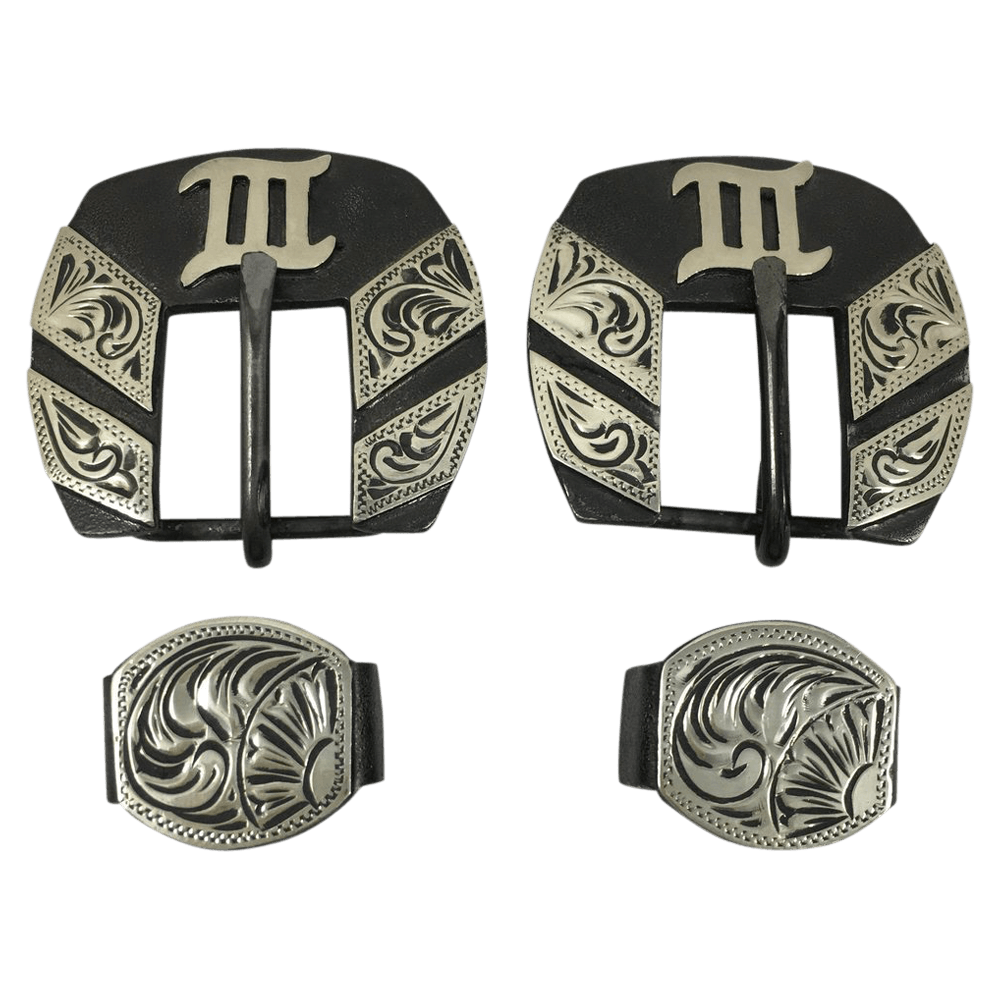 CSHB 103 Headstall Buckles - Corriente Buckle