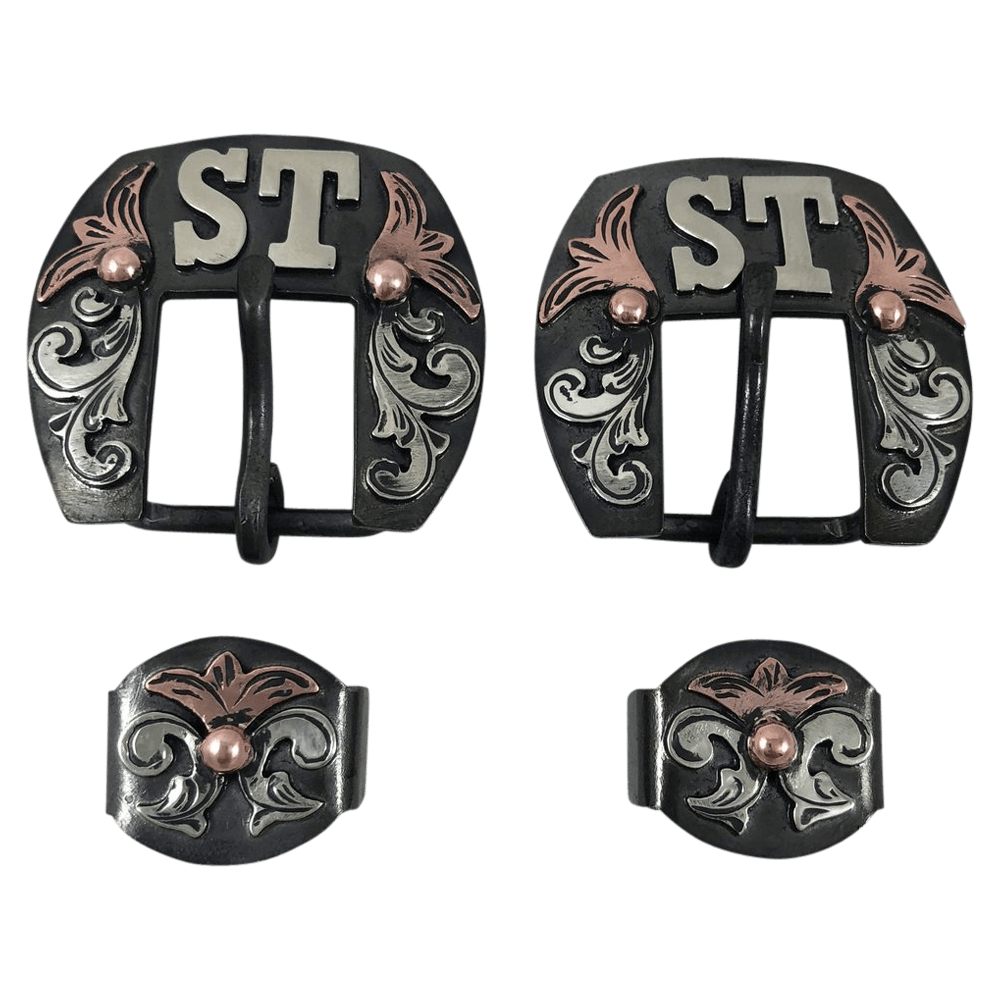 CSHB 104 Headstall Buckles - Corriente Buckle