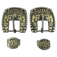 CSHB 120 Custom Headstall Buckles - Corriente Buckle