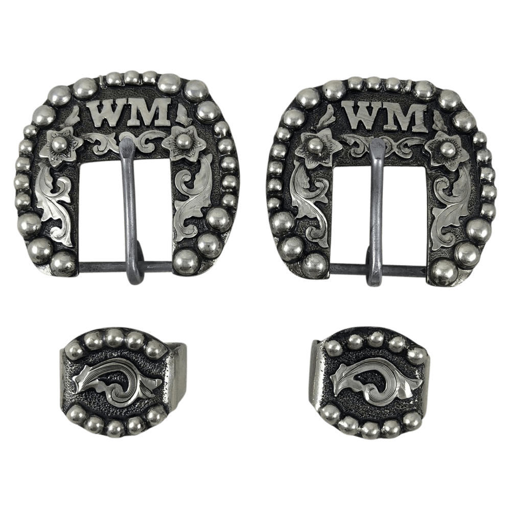 CSHB 121 Custom Headstall Buckles - Corriente Buckle