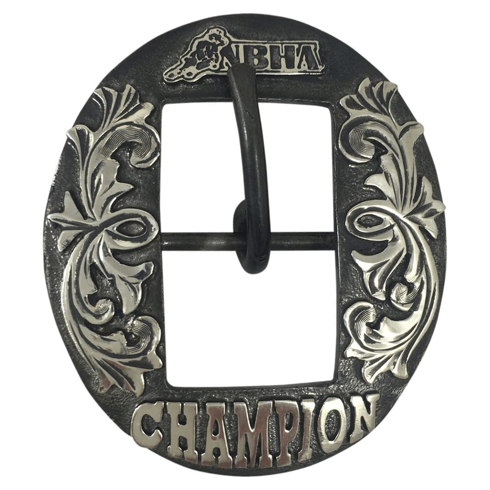 CSHB 139 Custom Trophy Silver Cart Headstall Buckles - Corriente Buckle