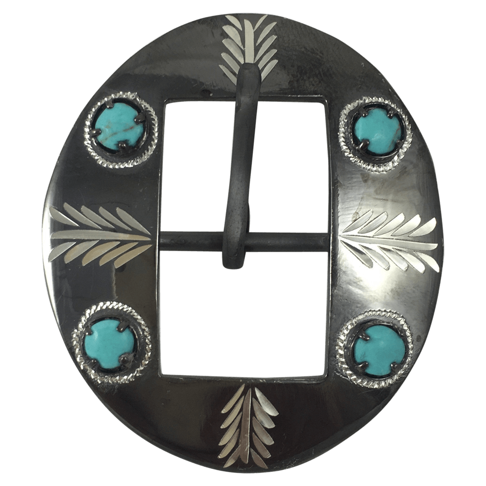 CSHB 165 Custom Cart Headstall Buckles - Corriente Buckle
