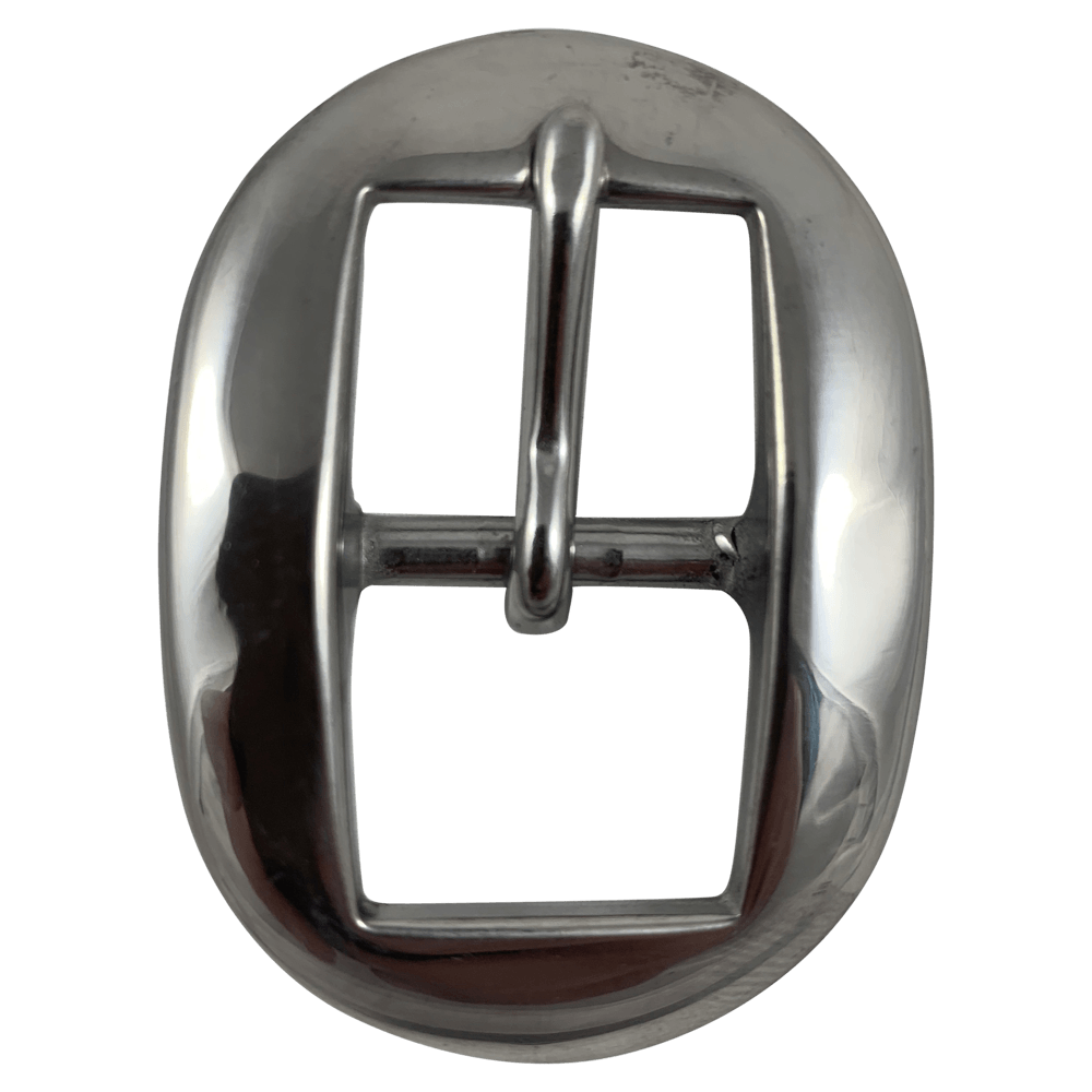 CSHB 190 Custom Stainless Steel Cart Headstall Buckles - Corriente Buckle