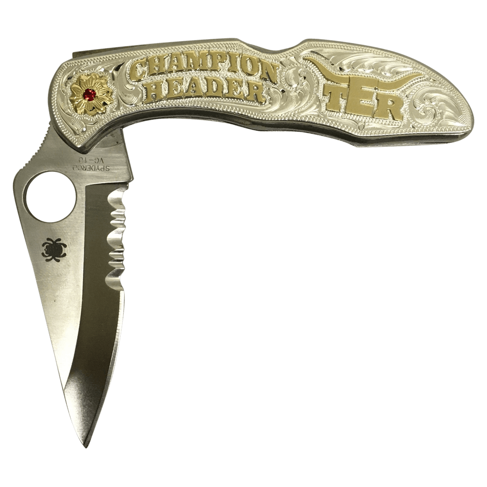 CSK 101 Spiderco Knife - Corriente Buckle