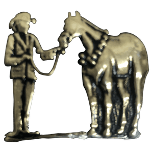 Horse and Showman - Corriente Buckle