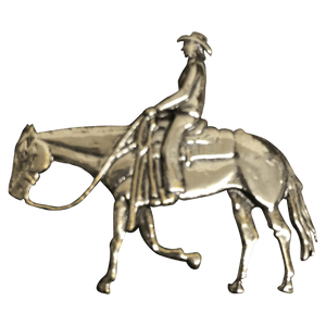 Trail Rider/Horse and Rider-2 - Corriente Buckle