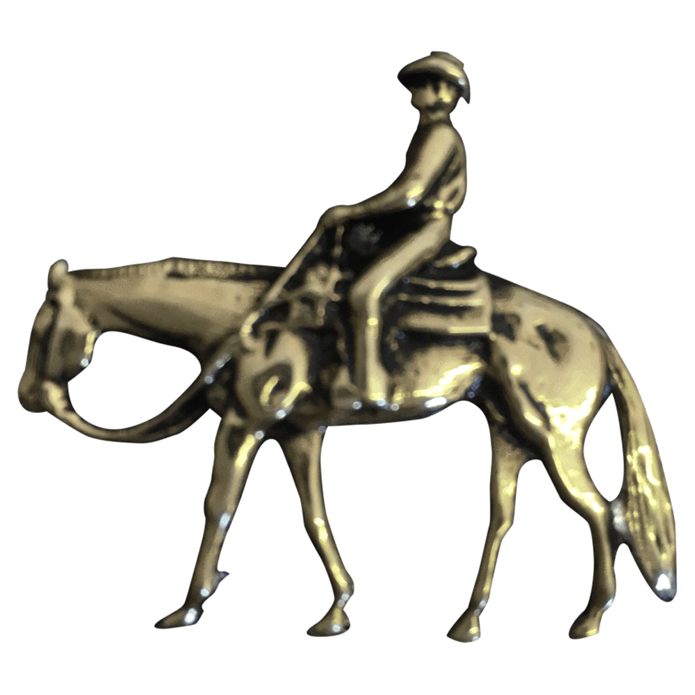 Trail Rider/Horse and Rider - Corriente Buckle