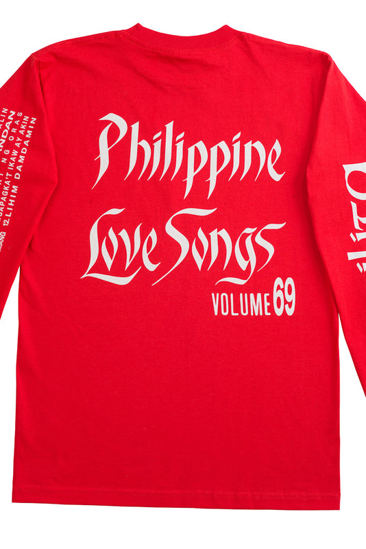 Philippine Love Songs LS T-Shirt