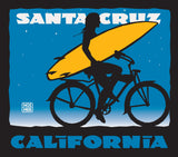 Santa Cruzer Girl Sticker