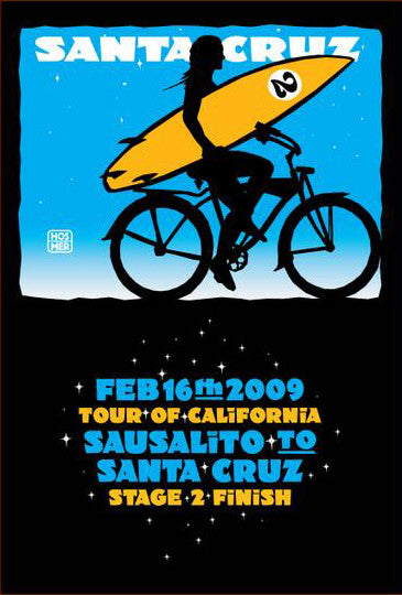 2009 Tour of California Poster