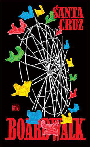 Boardwalk Ferris Wheel Poster