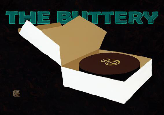 The Buttery Postcard