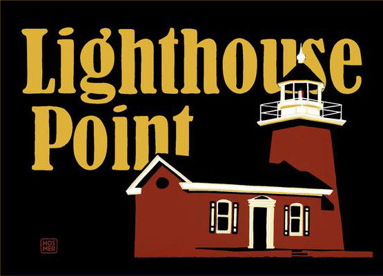 Lighthouse Point Postcard