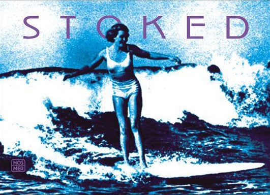 Stoked Surfer Large Format